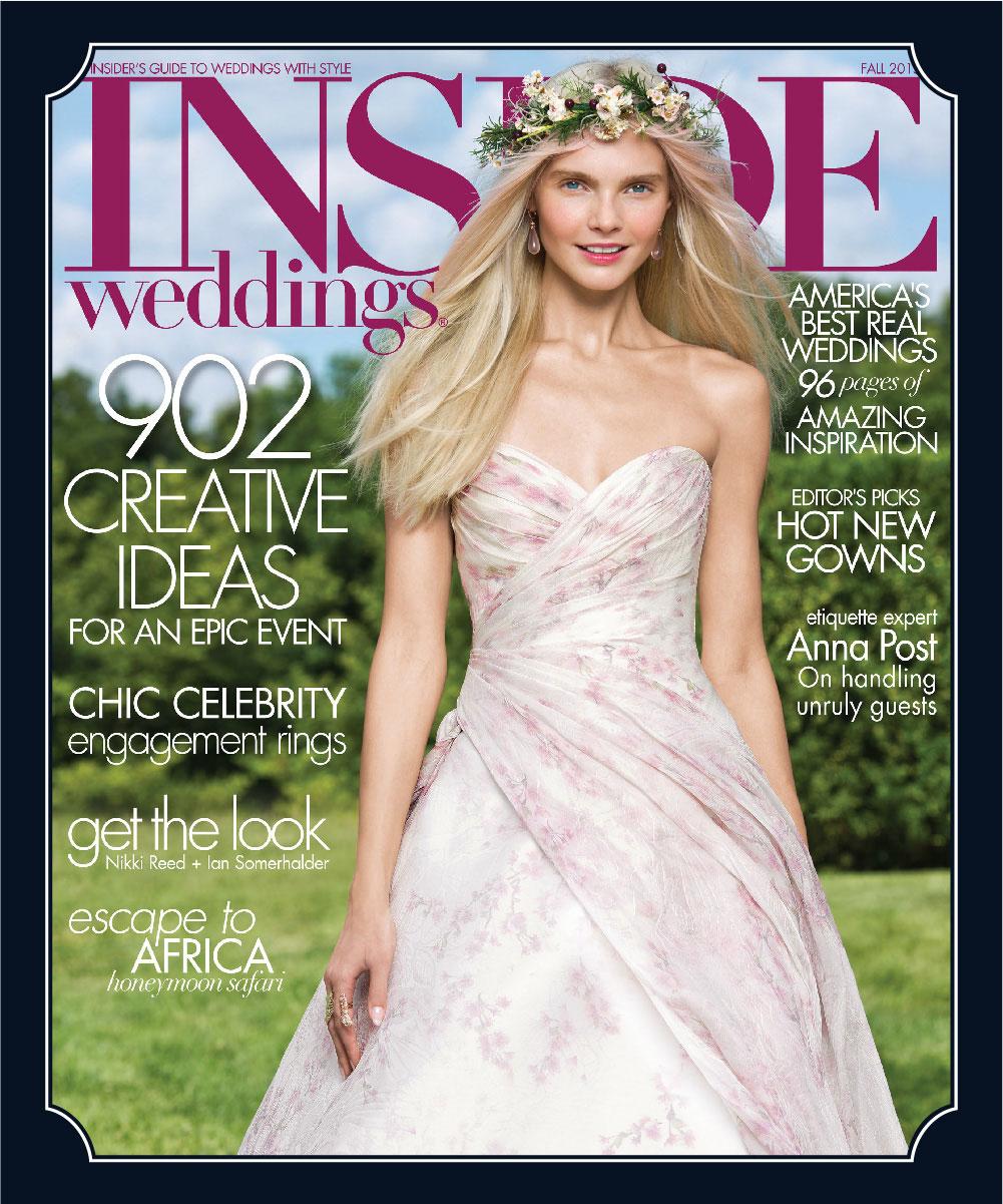 Inside Weddings Fall 2015 Cover