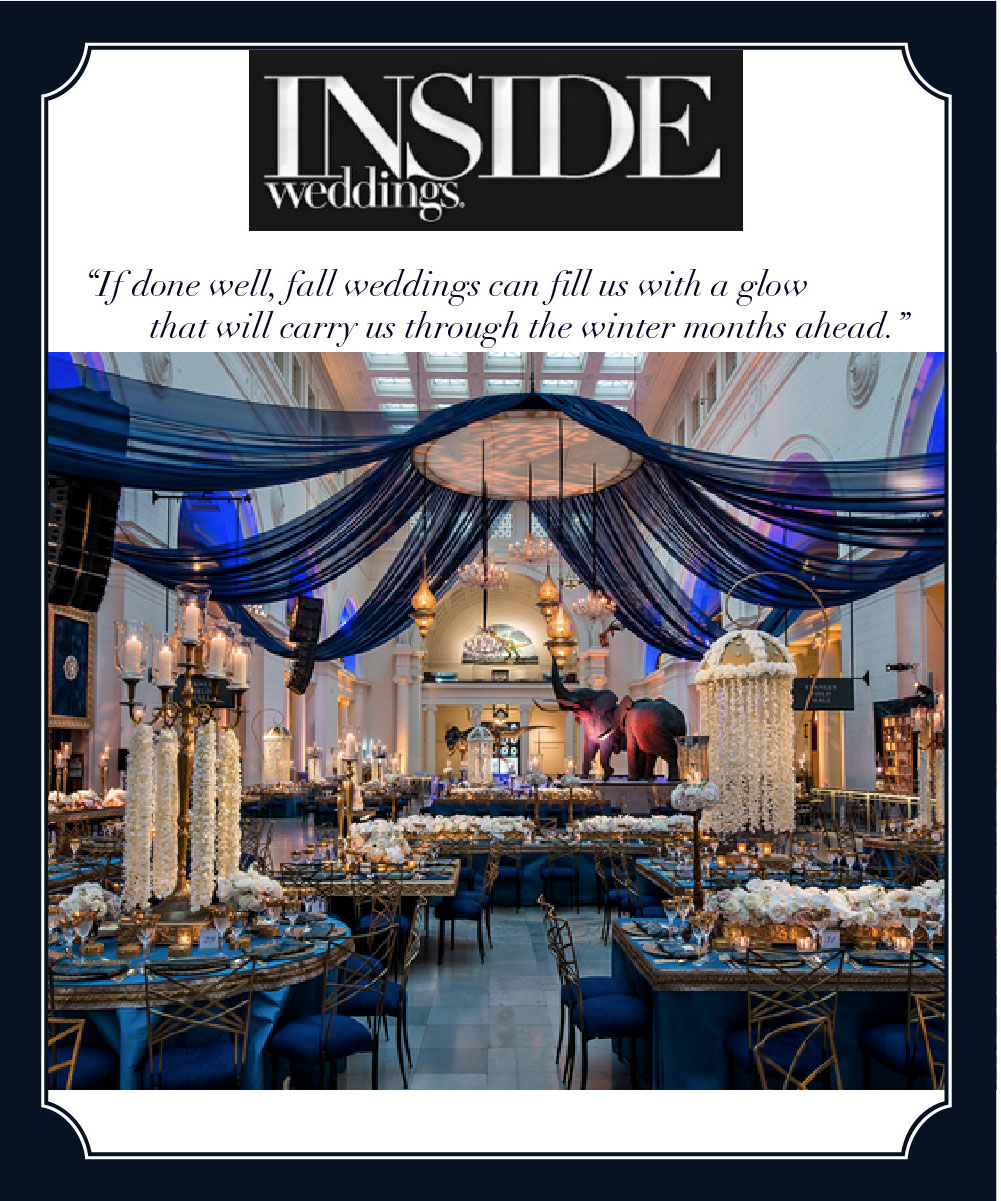 HMR Designs featured in Inside Weddings Expert Advice