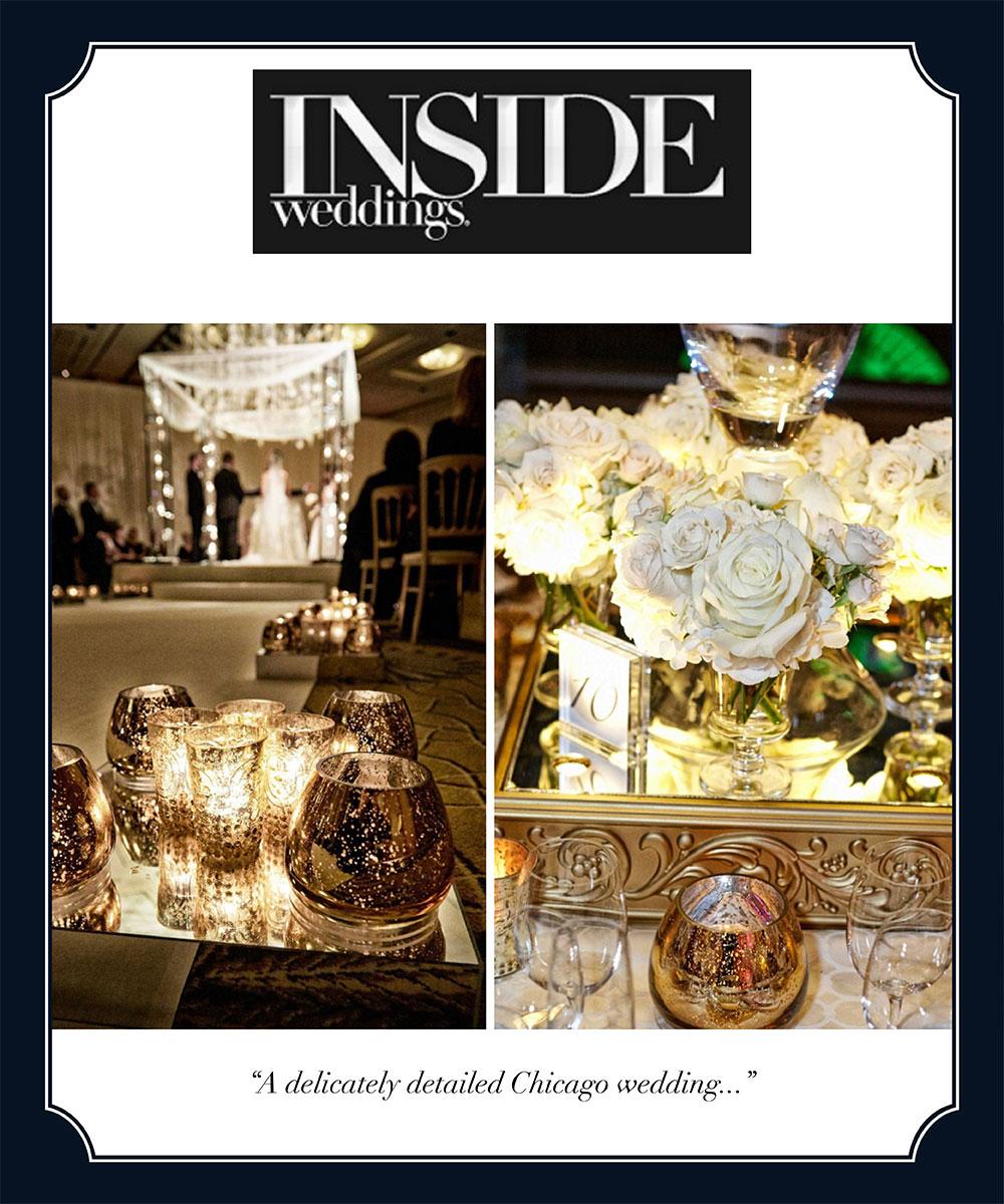 Inside Weddings and HMR Designs