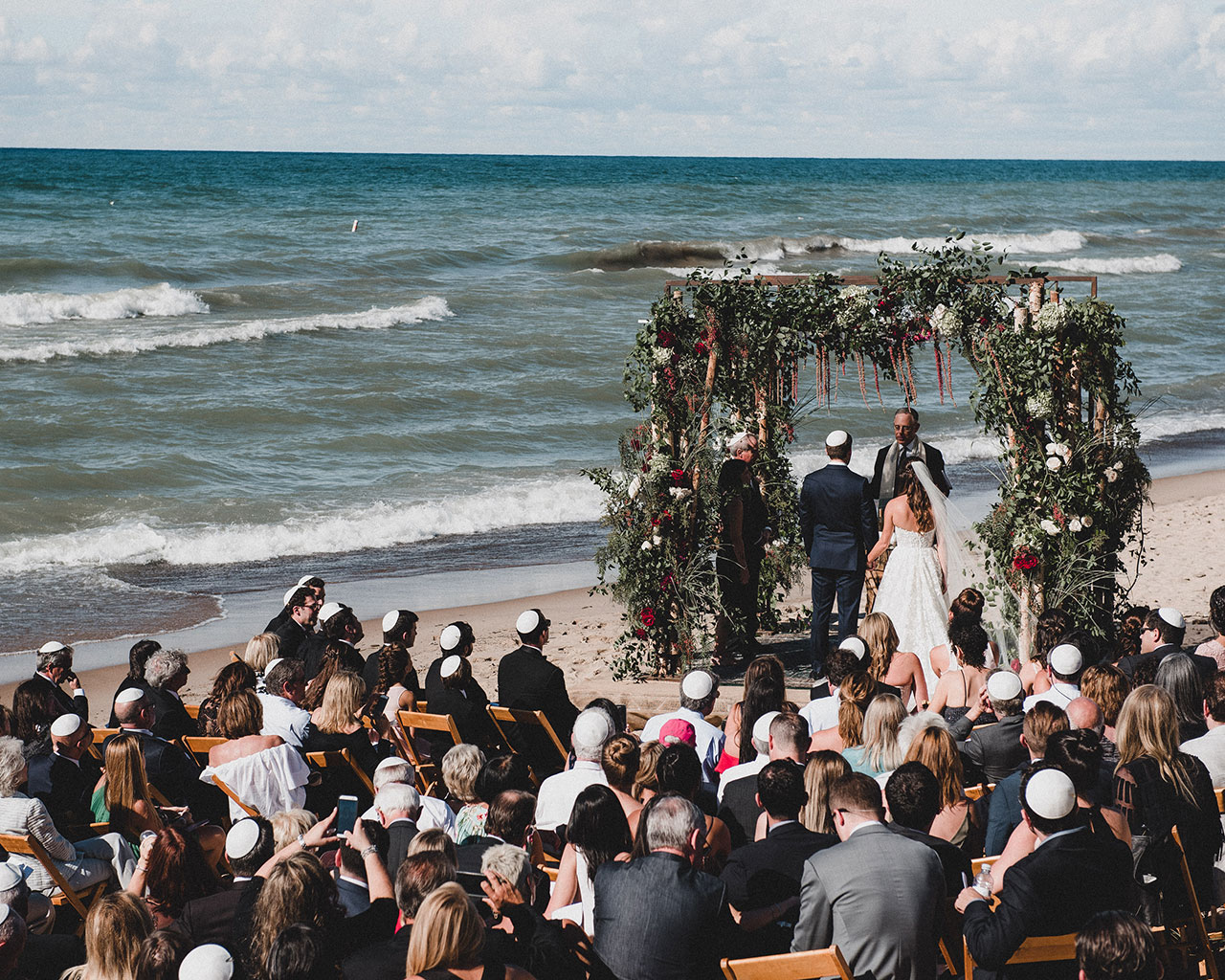 Michigan Lakefront + Journeyman Distillery Wedding Feature