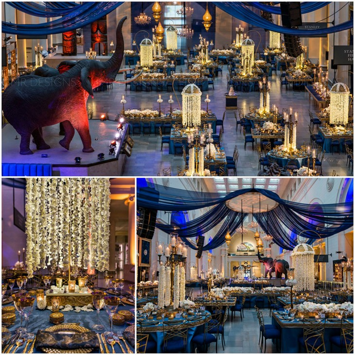 blue-and-gold-wedding-decor-chicago