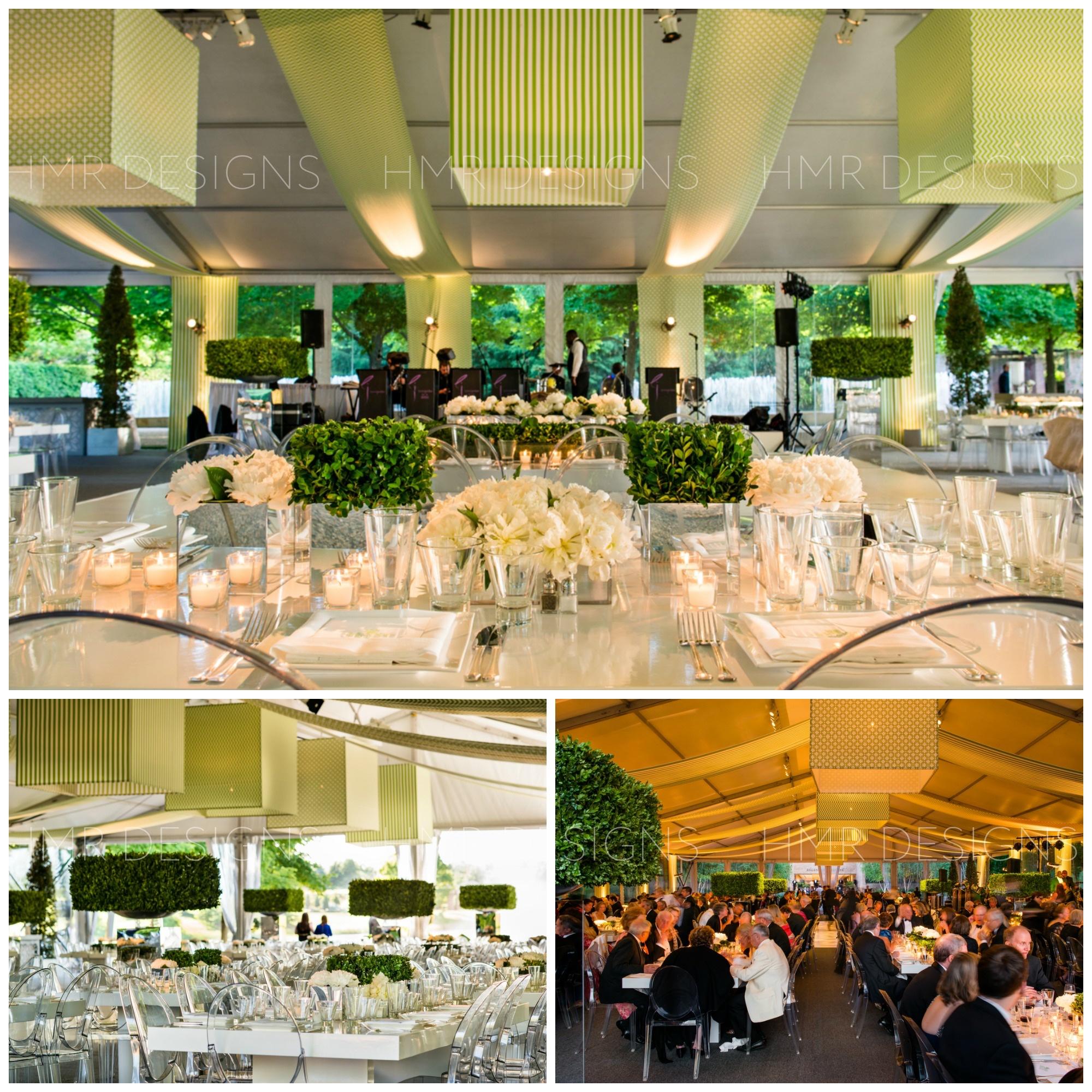 Lush gala decor by HMR Designs