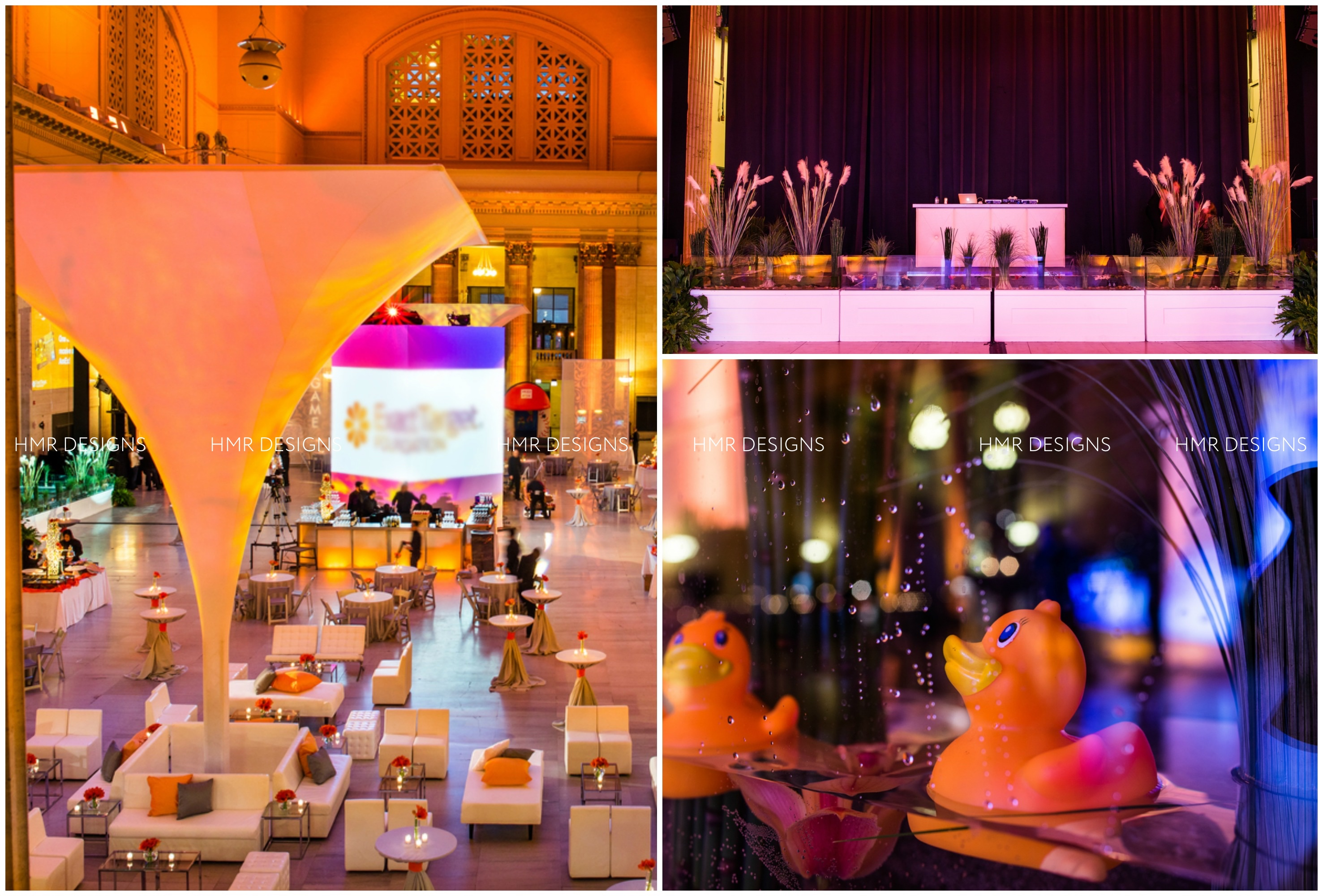Union Station corporate event by HMR Designs