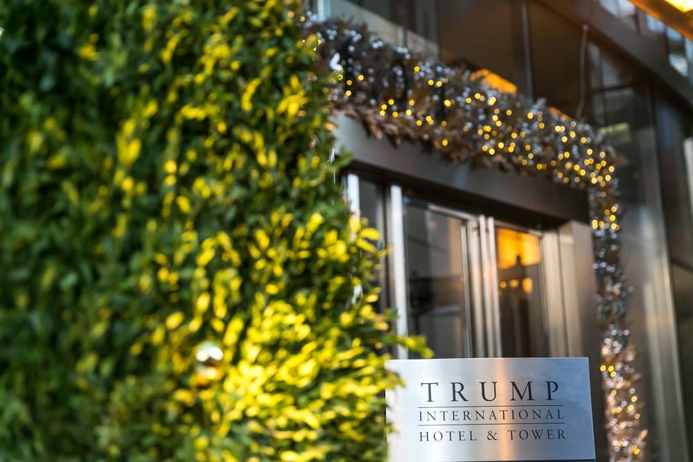 Trump Hotel Entrance Chicago
