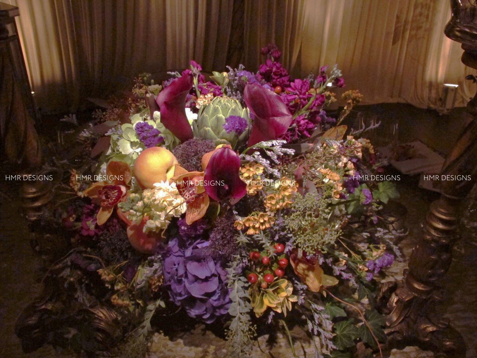 A gorgeous fall arrangement by HMR Designs