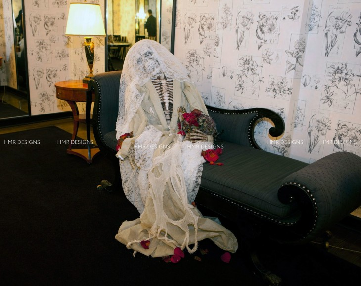Haunting decor by HMR Designs