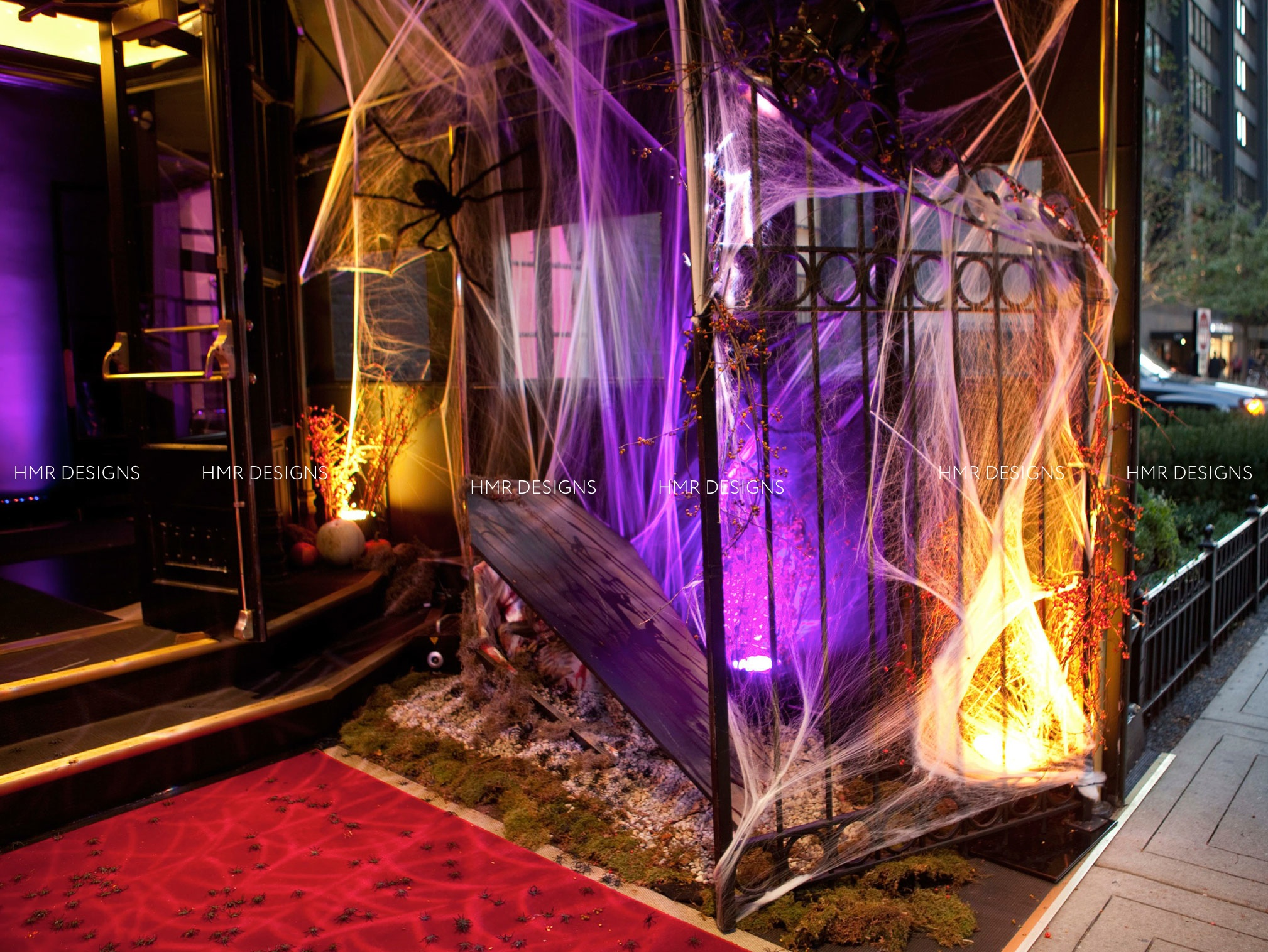 Halloween Decor by HMR Designs at Casino Club Chicago