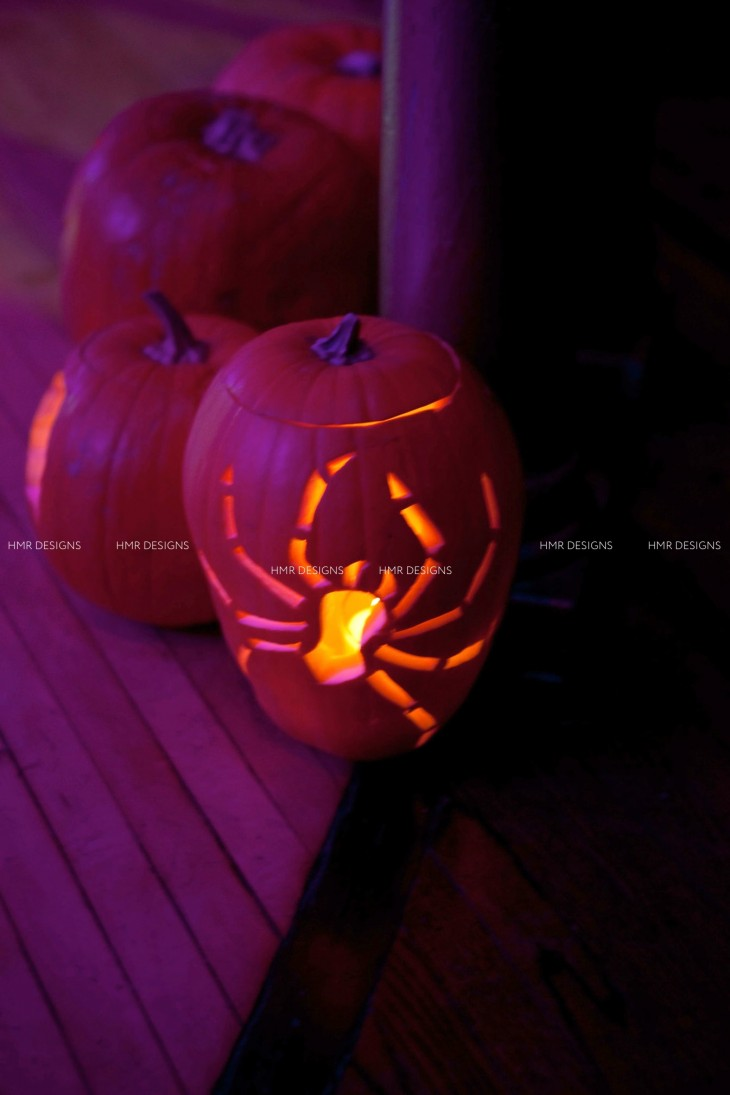 Halloween pumpkins by HMR Designs at Casino Club Chicago