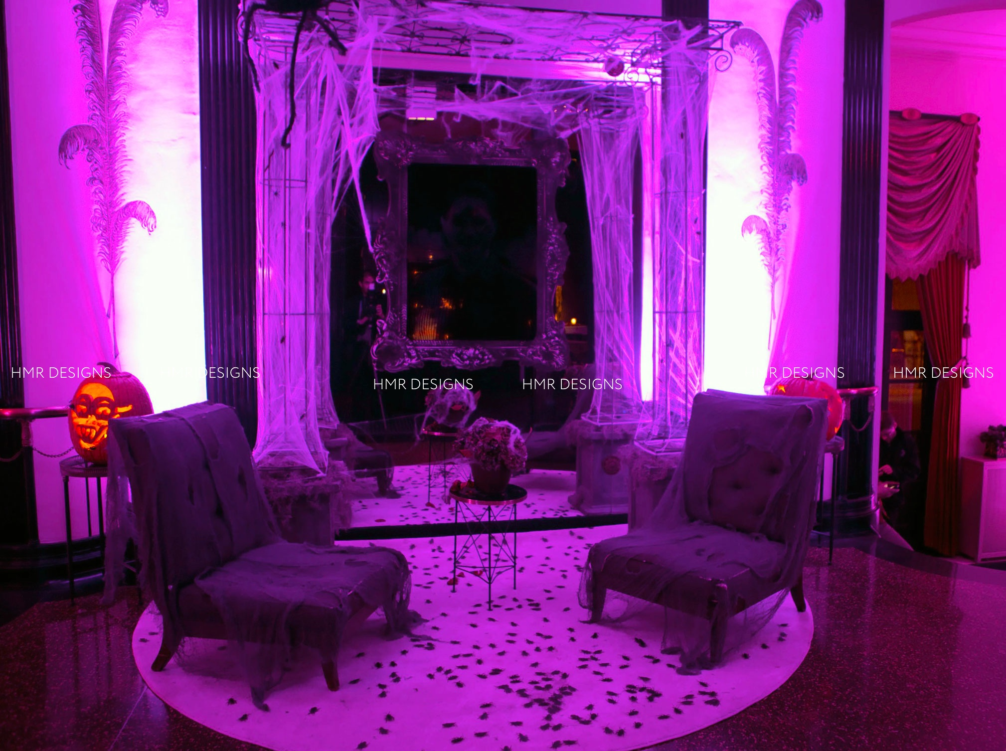 A haunted lounge at Casino Club Chicago by HMR Designs