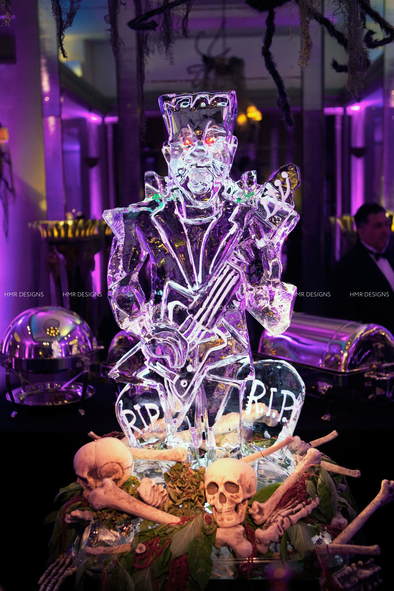Halloween Cocktail Decor by HMR Designs