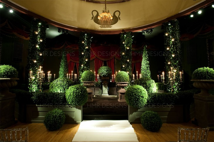 Winter-wedding-ceremony-in-chicago-at-casino-club