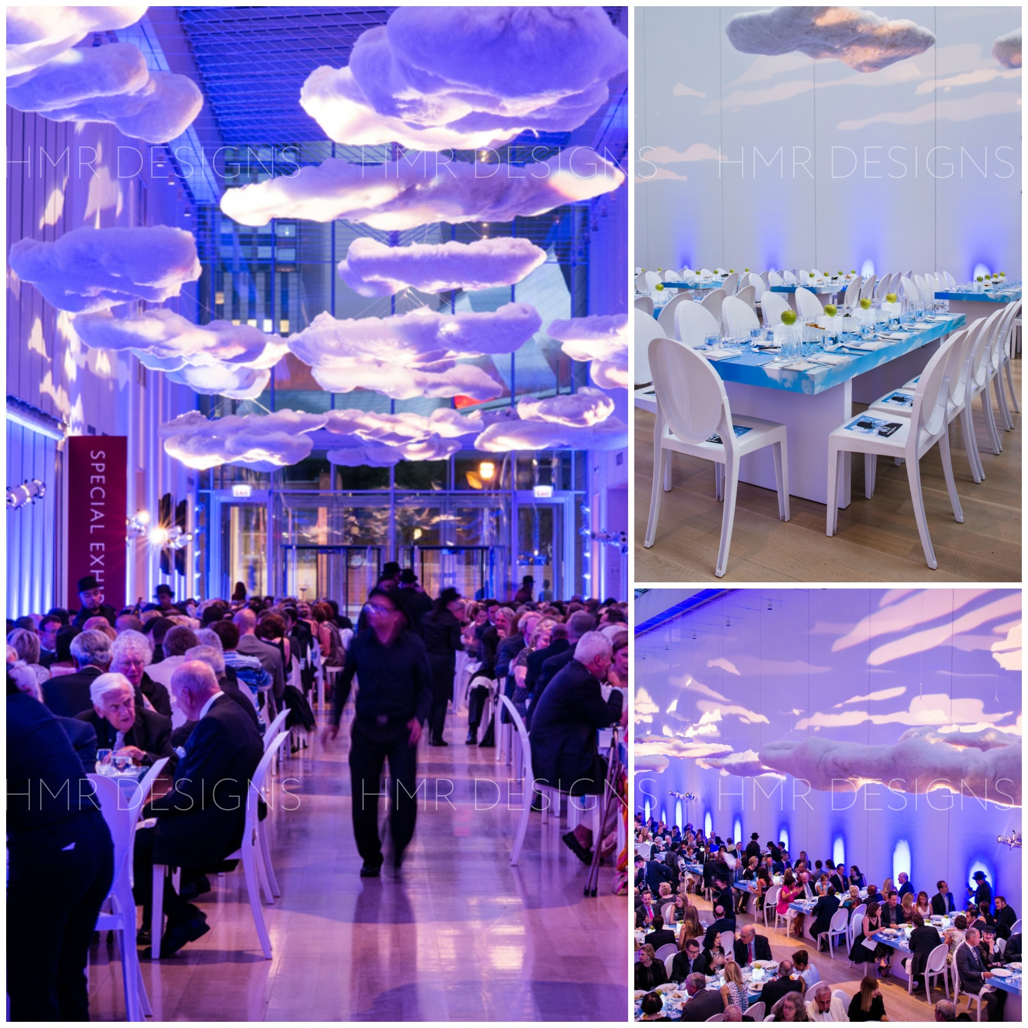 Magritte Gala decor by HMR Designs