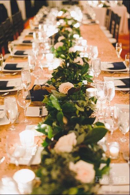 Winter wedding by HMR Designs