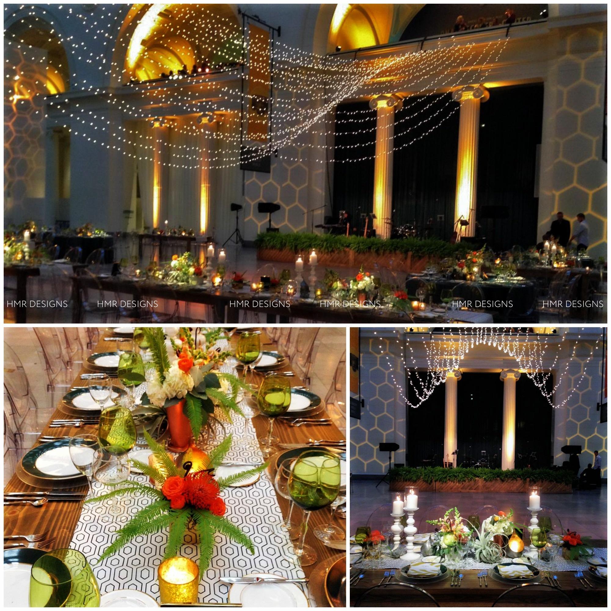 Unique wedding decor by HMR Designs