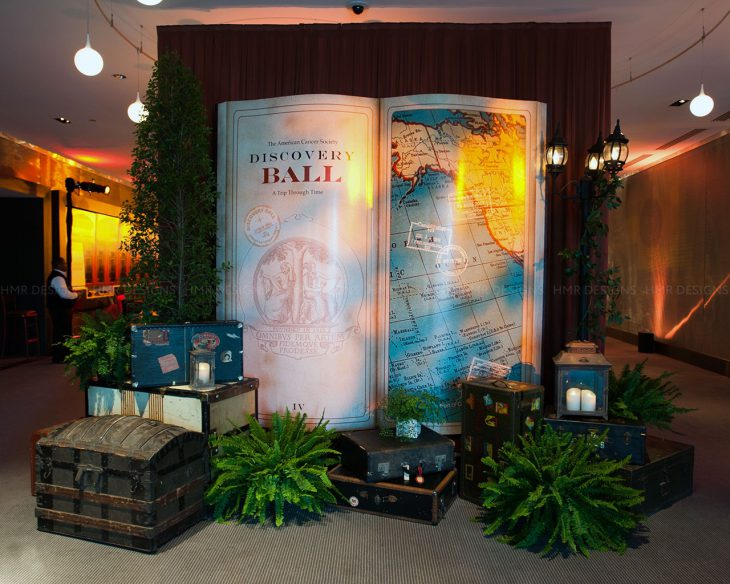 Travel-themed-decor-and-signage-at-the-ACS-Discovery-Ball-2013