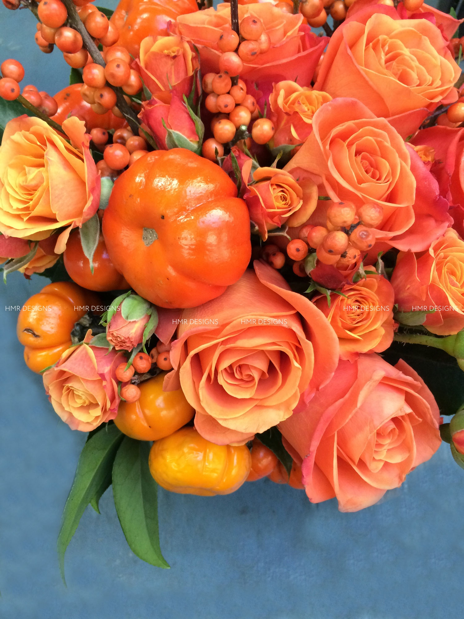 Autumn inspired floral by HMR Designs