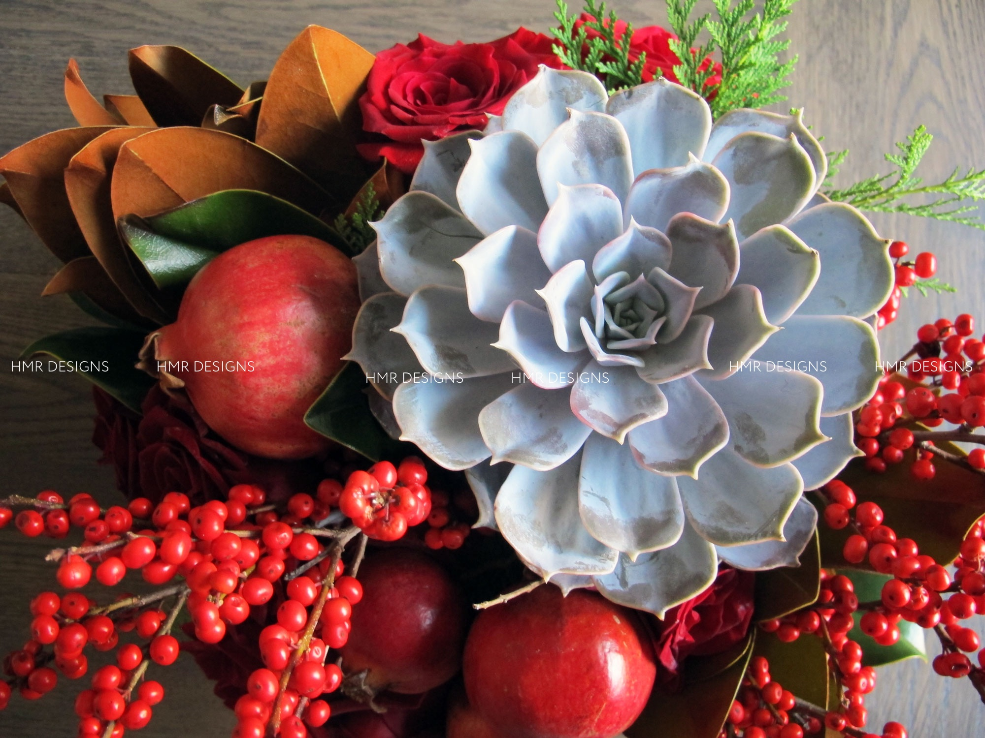 Autumn inspired floral design by HMR Designs