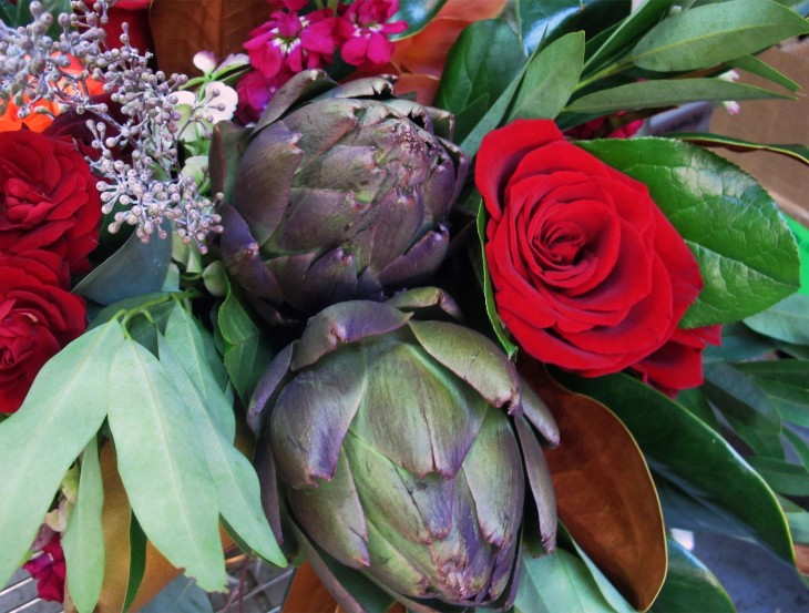 artichokes-in-floral-arrangements-for-fall