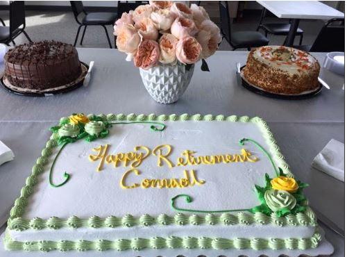 cake retirement employee conrado hmr