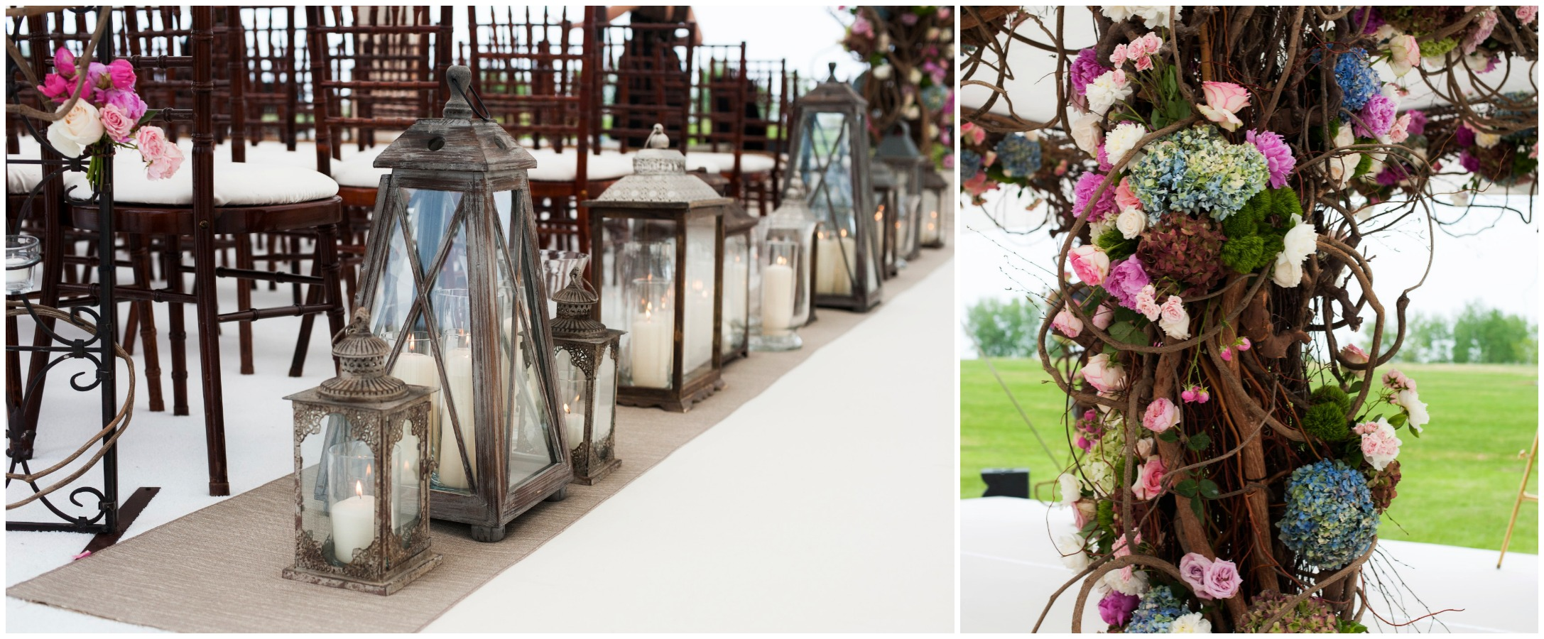 Outdoor summer wedding details by HMR Designs Chicago