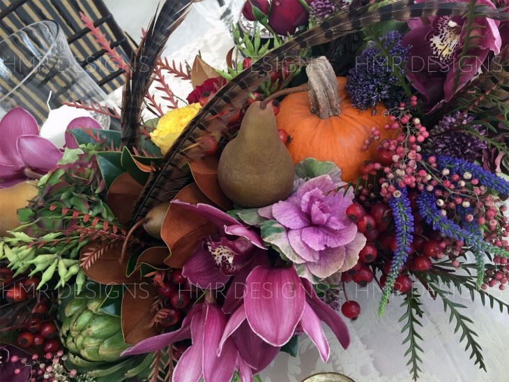 fall-flowers-in-a-centerpiece-by-HMR-Designs