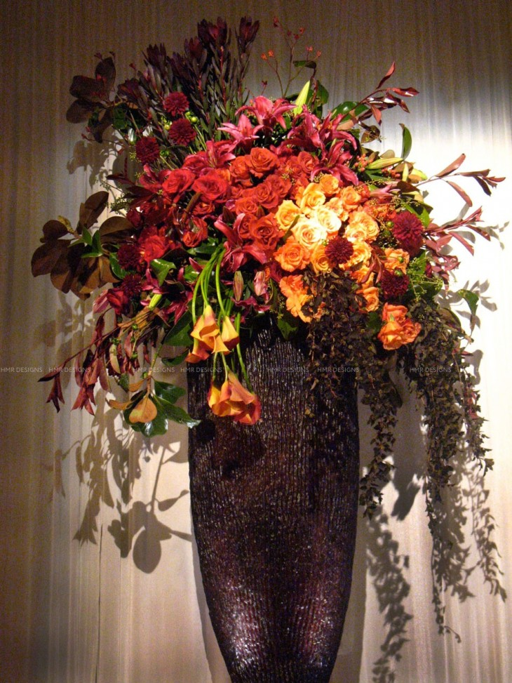 A gorgeous fall arrangement by HMR Designs
