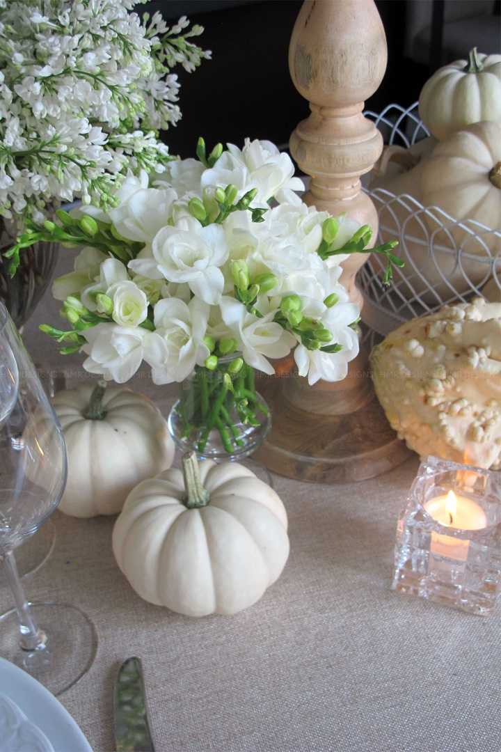 freesia-and-white-pumpkins-on-a-thanksgiving-table-by-hmr-designs