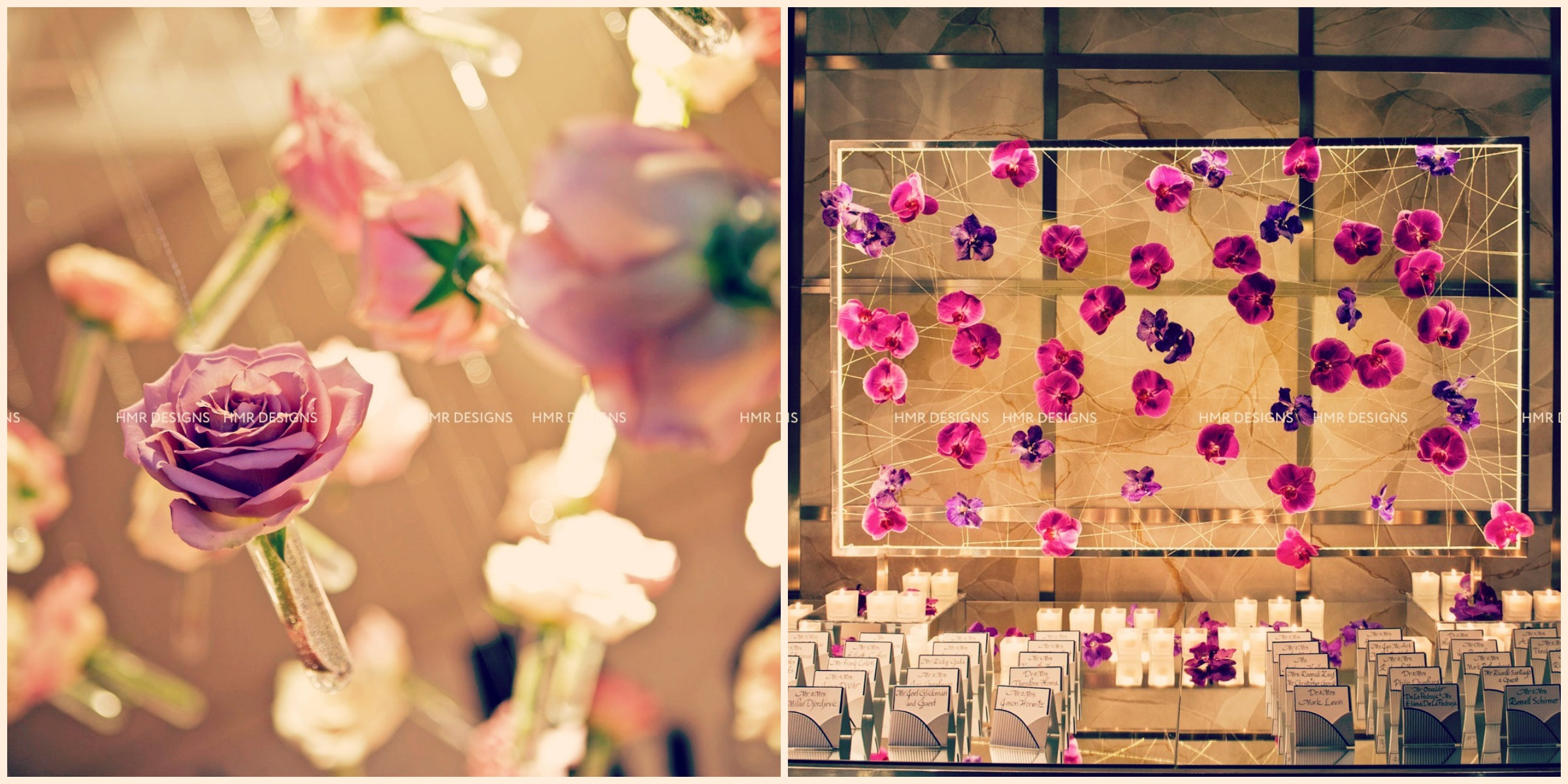 Suspended, strung and spectacularly eye-catching. Photos by Fandl Photography.