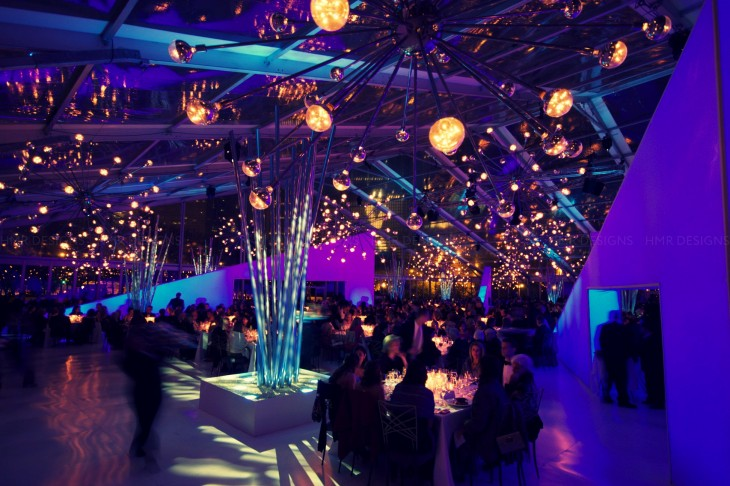 Our classic sputniks light up the opening of the Modern Wing at the Art Institute of Chicago. Photography by Tay.