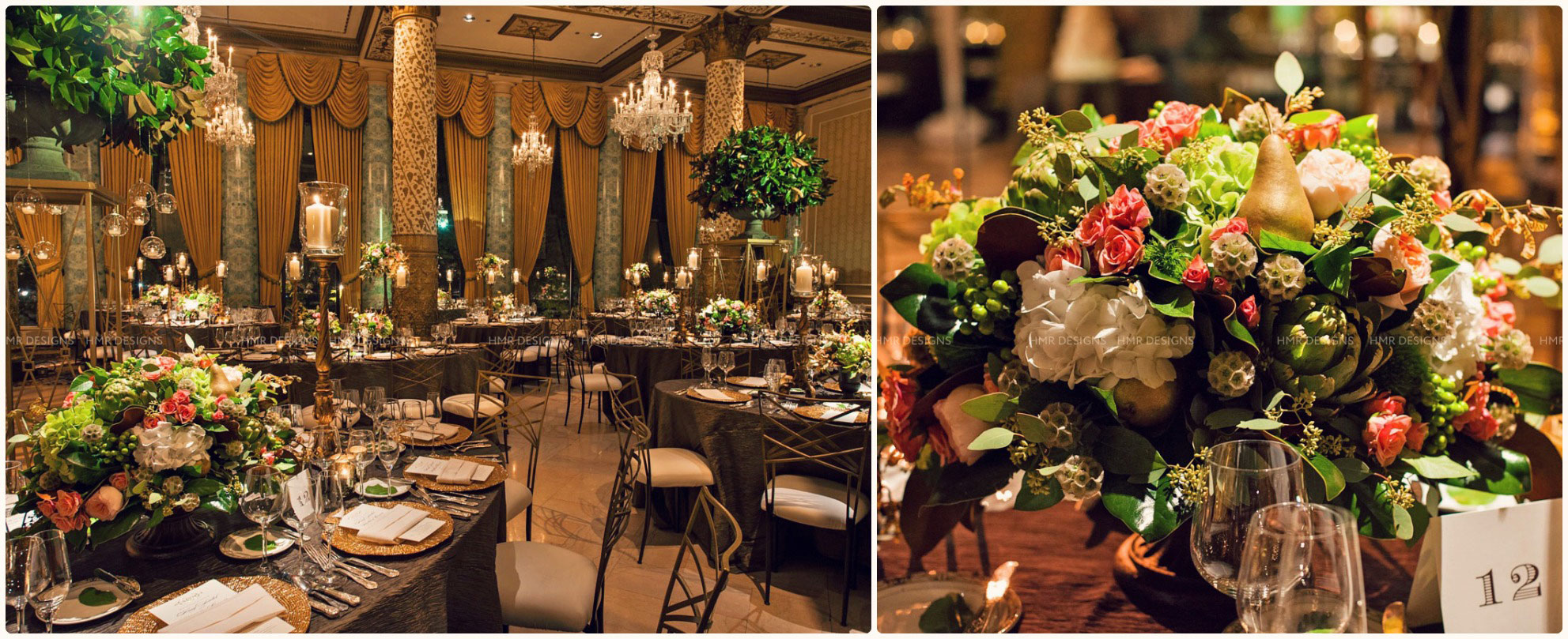 Fall wedding  at The Drake Chicago_HMR Designs